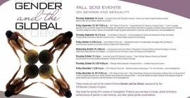 Poster for Gender and the Global Events